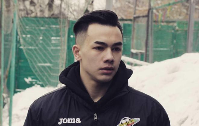 Tân binh của đội bóng Hải Phòng lai Việt - Nga, đẹp trai như hotboy-1