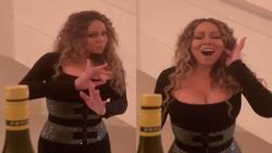 Giọng hát cao đến nỗi làm bật tung nắp chai, Mariah Carey khiến dân tình tròn mắt vì khả năng quá đáng sợ