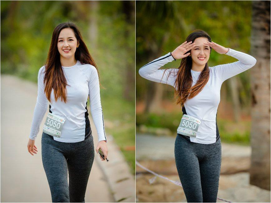 Quỳnh Nga khoe eo 55cm nhưng sự chú ý đổ dồn về chiếc quần bó chẽn vùng nhạy cảm-4