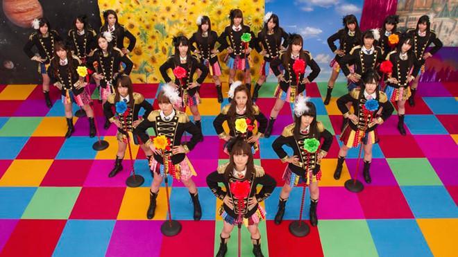 Nhóm nữ Kpop xinh đẹp bị chê khi cover hit nổi tiếng của AKB48-2
