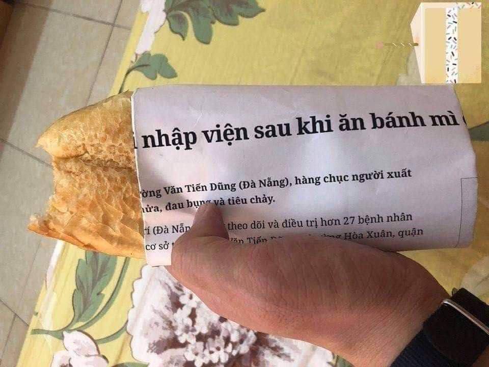 Hết hồn với những mảnh giấy gói bánh mì, nhìn thôi đã buồn nônchứ nói gì đến ăn-2