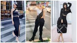 Con gái cứ mặc đồ đen là 'auto' chất: Cứ nhìn Chi Pu, Tú Hảo, Phí Phương Anh tuần qua thì biết!