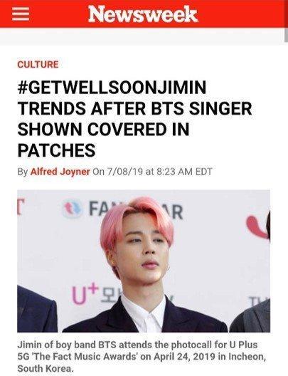 Fan xót xa khi thấy Jimin (BTS) kiệt sức xuất hiện tại sân bay với chi chít miếng dán giảm đau trên người-7