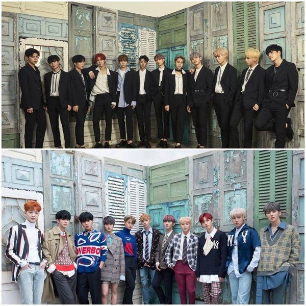 Nhóm nhạc tân binh KPop chưa kịp debut đã bị neitizen ném đá vì ảnh bìa… học hỏi Wanna One-2