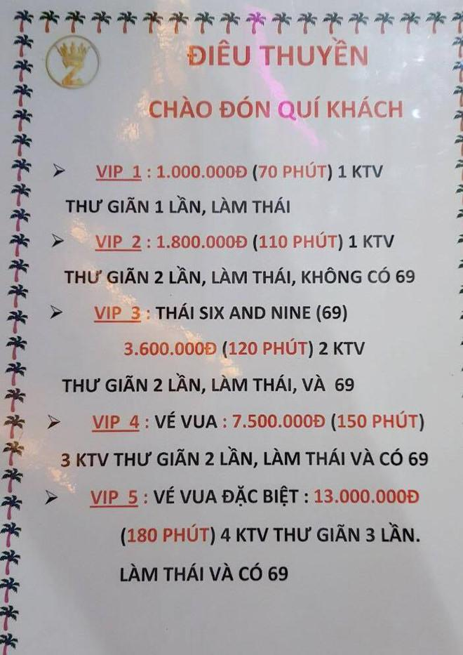 Đột kích tiệm massage Điêu Thuyền kích dục giá 13 triệu đồng ở Sài Gòn-1