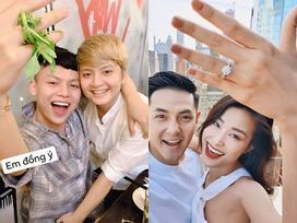 Màn khoe nhẫn kim cương cầu hôn của Đông Nhi bất ngờ truyền cảm hứng sáng tạo bá đạo tới giới trẻ thế này đây!