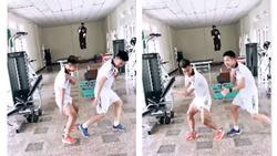 Xuân Trường - Văn Thanh cover điệu nhảy 'đau tay' của Sơn Tùng M-TP theo phong cách cầu thủ