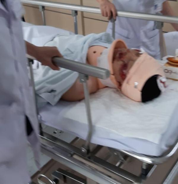 Người phi xe máy hất tung CSGT Hải Phòng mới 16 tuổi-4