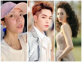 'Hoa hậu hài' Thu Trang mặt sưng phù loang lổ - Hari Won mất điểm với mái tóc như điện giật