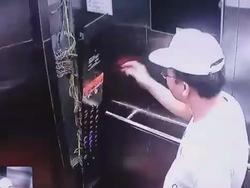 Clip: Người đàn ông ngoại quốc đạp tung thang máy rồi thản nhiên bỏ đi như không có chuyện gì xảy ra