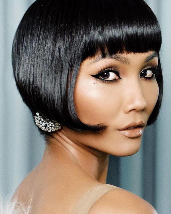 Ngày xưa có tóc cây dừa, giờ đây HHen Niê cực bá đạo với kiểu tóc 3 chỏm hài hước-5
