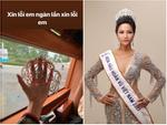 HHen Niê lại gây ngỡ ngàng với trang phục trên công chúa, dưới kỵ sĩ khi công bố cuộc thi Hoa hậu Hoàn vũ 2019-10