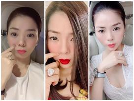 Lệ Quyên giữ vị trí 'cô gái vàng trong làng khoe nhẫn' khi selfie thì ít mà nhẫn kim cương tiền tỉ đập vào mặt thì nhiều