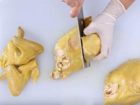 Ai chưa biết chặt gà thì xem ngay Video này, đảm bảo 5 phút chặt xong cả con lại còn bày đẹp mắt