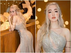 Elly Trần 'chơi lớn', đi dự sự kiện thôi cũng 'múa tay cosplay' thành Mẹ Rồng của 'Game of Thrones'