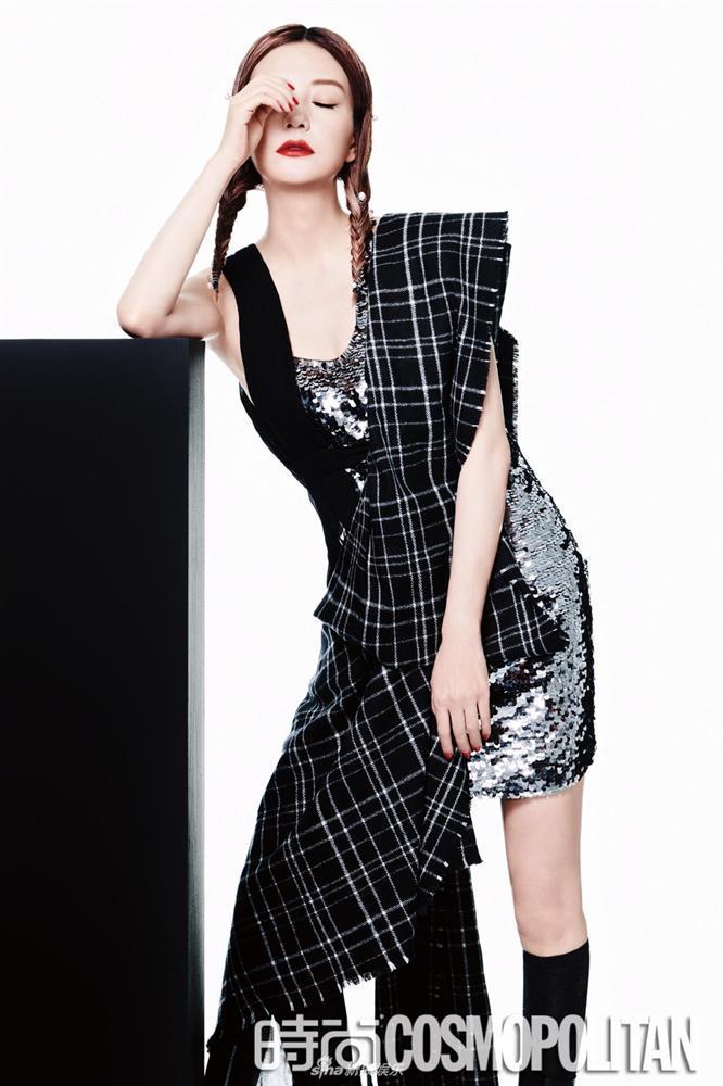 Triệu Vy lột xác cùng phong cách gothic ma mị trên tạp chí thời trang Cosmopolitan-7