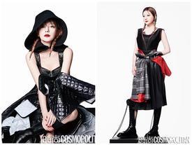 Triệu Vy lột xác cùng phong cách gothic ma mị trên tạp chí thời trang Cosmopolitan