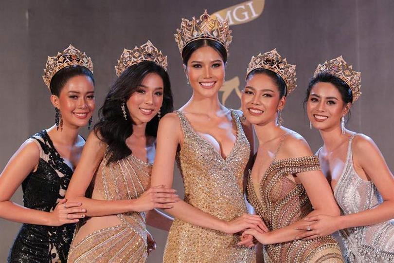 Thật như đùa ở Thái: Mỹ nữ quàng nải chuối lên người đi thi hoa hậu!-1