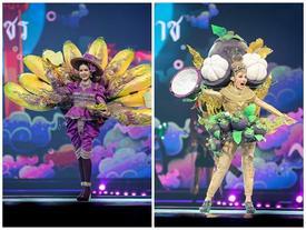 Thật như đùa ở Thái: Mỹ nữ quàng nải chuối lên người đi thi hoa hậu!
