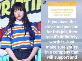 Fan Kpop chuẩn bị 'hít hà' drama: Thành viên Kyla (Pristin) ngầm xác nhận sẽ vạch trần Pledis Entertainment?