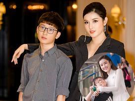 BẤT NGỜ CHƯA: Lâu lâu không lên sóng mà em trai Á hậu Huyền My đã có màn dậy thì trên cả thành công rồi đây