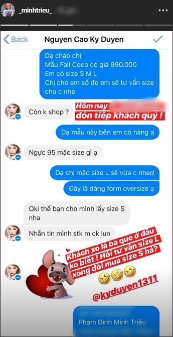Mua hàng online mà gặp khách như Kỳ Duyên thì Minh Triệu mắng là xỏ lá ba que cũng đúng thôi!-1