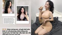 Hotgirl Hàn Hằng PR dịch vụ nâng ngực dù khẳng định chưa đụng dao kéo