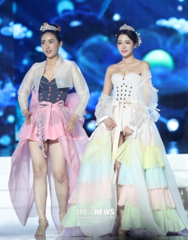 Diện hanbok theo kiểu khoe thân, Top 6 Hoa hậu Hàn Quốc 2019 bị ném đá không trượt phát nào-4