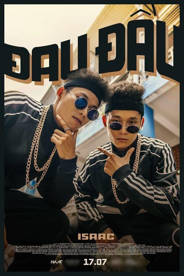 Isaac tung poster MV với tạo hình na ná Binz, fan hoang mang hỏi nhau nam thần lặn đâu mất rồi?-4