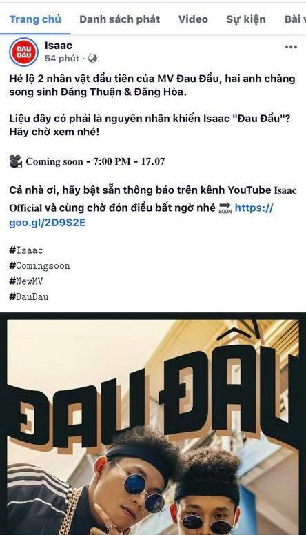 Isaac tung poster MV với tạo hình na ná Binz, fan hoang mang hỏi nhau nam thần lặn đâu mất rồi?-3