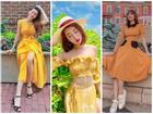 Khoe street style mùa du lịch cùng sắc vàng nổi bật như cặp 'chị chị em em' Hồ Ngọc Hà - Minh Hằng