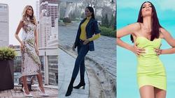 Bản tin Hoa hậu Hoàn vũ 12/7: H'Hen Niê lên đồ xuất sắc 'chặt' nguyên dàn giai nhân chưng diện sexy