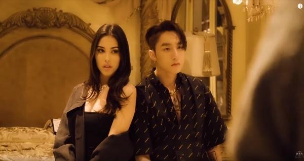 Sơn Tùng lần đầu tiết lộ những cảnh tình tứ với người đẹp Madison Beer trong clip hậu trường MV Hãy trao cho anh-5