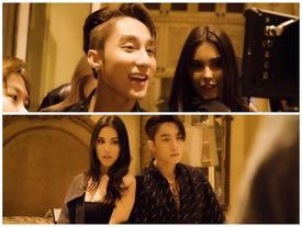 Sơn Tùng lần đầu tiết lộ những cảnh tình tứ với người đẹp Madison Beer trong clip hậu trường MV 'Hãy trao cho anh'