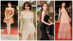 Chỉ cần 1 chiếc váy body, Hương Giang 'chặt đẹp' dàn 'công chúa' từ Ngọc Trinh, Huyền My đến Tiểu Vy
