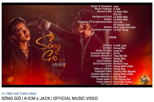 Tựa là Sóng Gió lại còn dính đạo nhạc, K-ICM và JACK vẫn thu về loạt thành tích đáng nể sau 16 giờ lên sóng-2