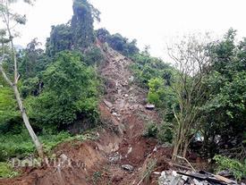 Cao Bằng: Lở núi vùi lấp 3 người trong một gia đình
