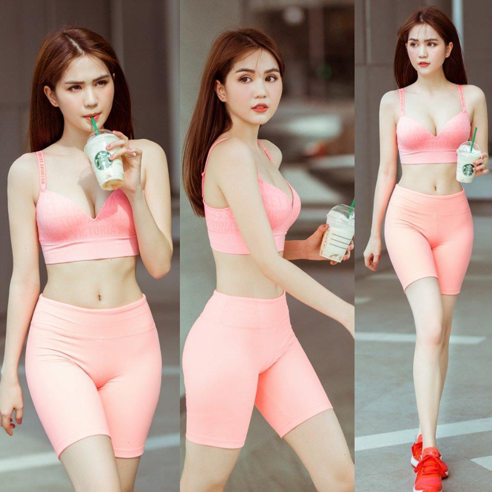 Tung clip diện bikini, Ngọc Trinh chính thức trở lại đường đua nóng bỏng của Vbiz-7