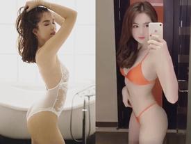 Tung clip diện bikini, Ngọc Trinh chính thức trở lại đường đua nóng bỏng của Vbiz
