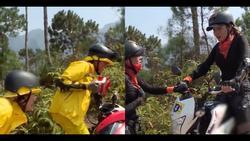 Cùng Minh Triệu chạy xe trên địa hình quá nguy hiểm, Kỳ Duyên khóc ròng vì sợ chết giữa chốn hoang sơ