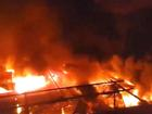 Cháy chợ kinh hoàng ở Đắk Lắk, gần 50 ki ốt thành tro