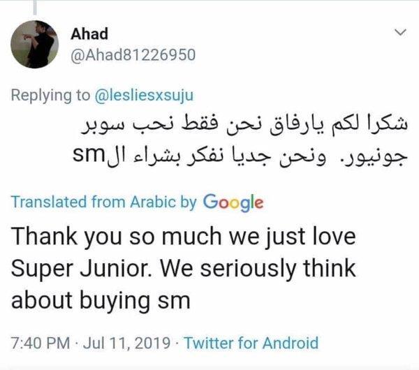 Kinh hãi độ giàu có của fan Super Junior tại Ả Rập: Vàng nguyên chất, đồng hồ Rolex và giờ thì muốn mua toàn bộ SM Entertainment tặng các oppa-6
