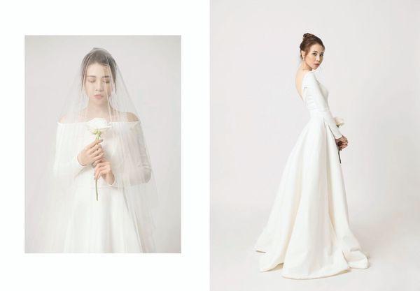 Ơn giời, chiếc váy gợi cảm nhất từ trước đến nay này mới là váy cưới chính thức của Đàm Thu Trang?-4