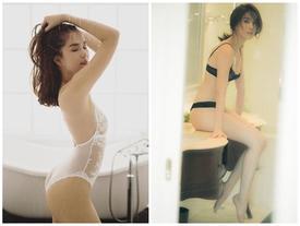 Ngọc Trinh tung clip mặc bikini nóng bỏng mắt, phô diễn thân hình trứ danh showbiz