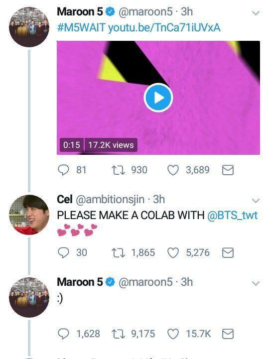 Hài hước với loạt bằng chứng cho thấy Maroon 5 là fan BTS từ hồi… năm 2014-5