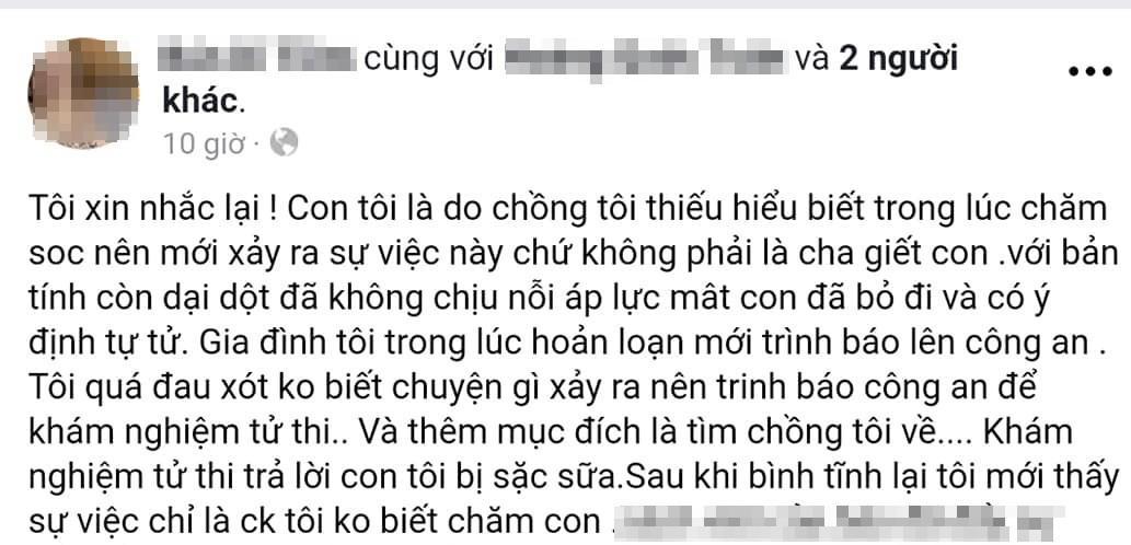 Vụ bố trẻ giết con trai 4 tháng ở Huế: Do bé khóc mãi không chịu nín-2