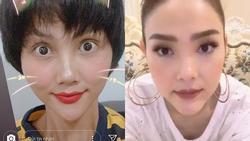 Bản tin Hoa hậu Hoàn vũ 14/7: H'Hen Niê gây shock với chiếc cằm nhọn 'xuyên thủng vạn vật' ngang ngửa Minh Hằng