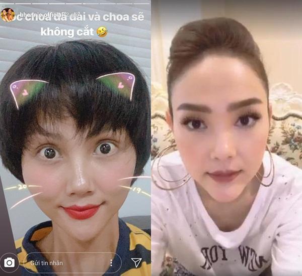 Bản tin Hoa hậu Hoàn vũ 14/7: HHen Niê gây shock với chiếc cằm nhọn xuyên thủng vạn vật ngang ngửa Minh Hằng-1