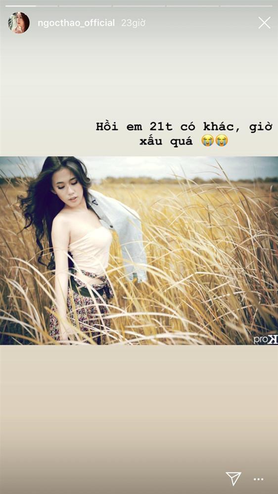 Hot girl Ngọc Thảo khoe ảnh năm 21 tuổi, tự nhận 'giờ xấu quá'-1