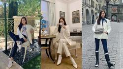 Giàu là vậy nhưng Jessica thường xuyên mặc đi mặc lại 1 món đồ mà không ai hay biết